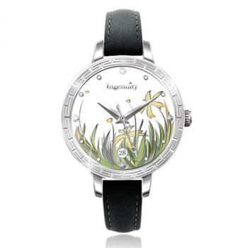 Ingenuity與時間的約定~十二月花神系列腕錶-六月金針
