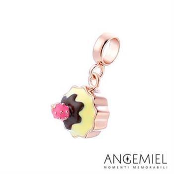 Angemiel安婕米 925純銀珠飾 Dream童話系列 草莓杯子蛋糕 吊飾