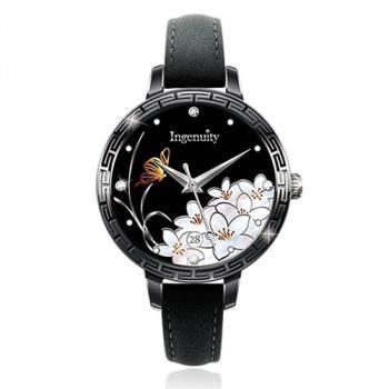 Ingenuity與時間的約定~十二月花神系列腕錶 - 四月油桐花