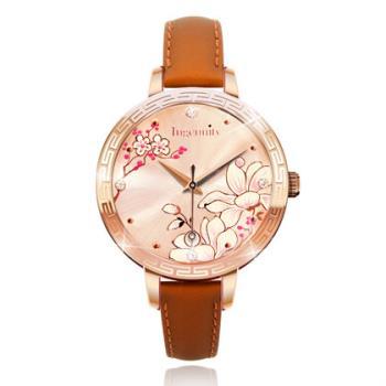 Ingenuity與時間的約定~十二月花神系列腕錶-二月杏花