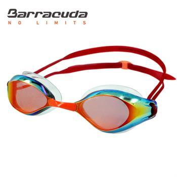 美國巴洛酷達Barracuda成人廣角抗UV防霧電鍍泳鏡 LIQUID WAVE#91410