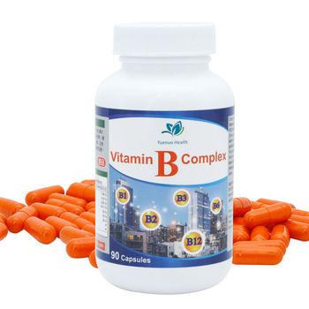 【約諾】康體膠囊高單位綜合維他命B群(90顆/瓶)
