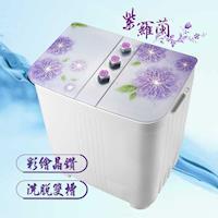 ZANWA晶華 4KG花漾雙槽洗衣機/洗滌機 ZW-168D-型
