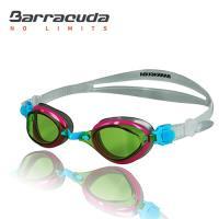 美國巴洛酷達Barracuda兒童競技型抗UV防霧泳鏡-FENIX JR#73855
