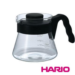 HARIO日本 V60好握01黑色咖啡壺450ml