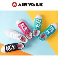 【美國 AIRWALK】可愛圓頭青春百搭帆布鞋-女-共五色