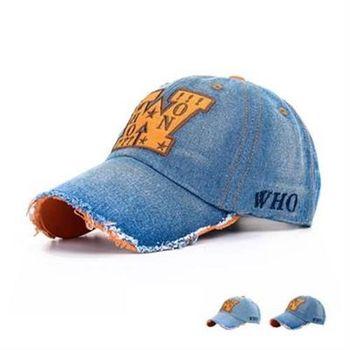 【米蘭精品】牛仔帽字母棒球帽休閒百搭戶外時尚73da3