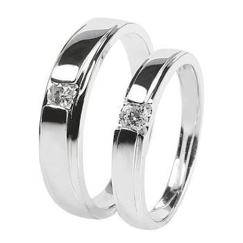 BRILLMOND 十分熱烈的愛鑽石對戒