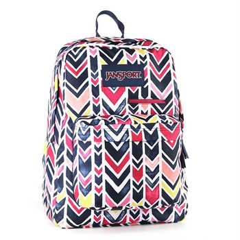 JanSport DIGITAL背包(DIGBREAK)-V形經典藍