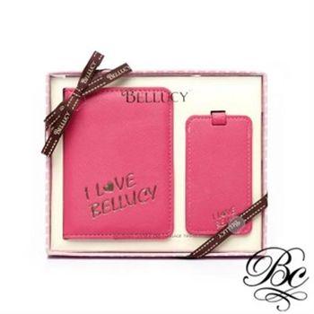 【BELLUCY】護照套行李吊牌旅遊套組(共四色)