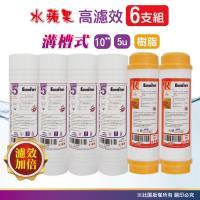 EssenPure 10英吋 效能版 5微米PP 除垢樹脂濾心