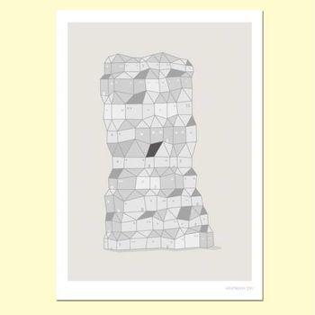 【摩達客】西班牙知名插畫家Judy Kaufmann藝術創作海報掛畫裝飾畫-鄰居們 (附Judy本人簽名)(含木框)