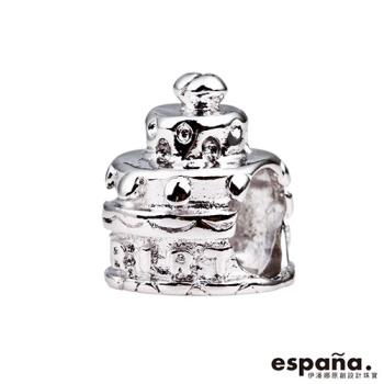 ESPANA伊潘娜 生日快樂純銀串珠