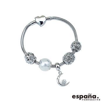 ESPANA伊潘娜 晚安寶貝純銀串珠手鍊