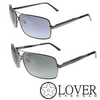 【Lover】精品金屬雙樑方框太陽眼鏡(9125)