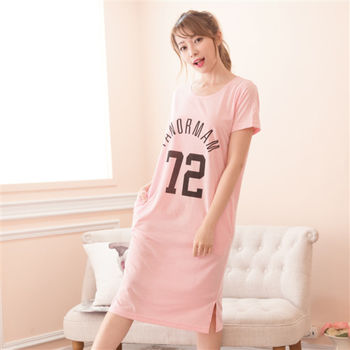 【MFN蜜芬儂】美式極簡風格棉質居家洋裝(3色)