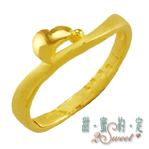 【甜蜜約定】甜蜜純金尾戒FR-S3667