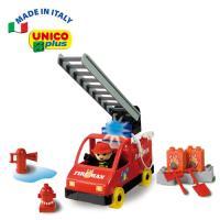 【義大利Unico】主題系列-消防車組-行動