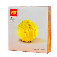 【FY積木大師】黃色保齡球 1602