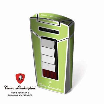 義大利 藍寶堅尼精品 - AERO LIGHTER 打火機(綠色) ★ Tonino Lamborghini 原廠進口 ★