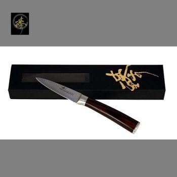 臻 刀具 / 大馬士革鋼系列-削皮刀 -DLC828-10