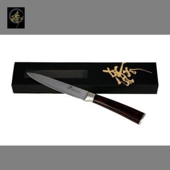 臻 刀具 / 大馬士革鋼系列-水果刀-DLC828-08