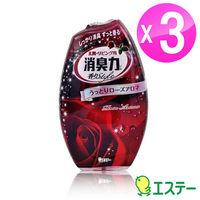 ST雞仔牌 部屋消臭力-玫瑰精油400ml 3入組ST-122776