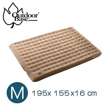 【Outdoorbase】 歡樂時光充氣床墊-M號.戶外旅行.充氣床墊.充氣睡墊24042-行動