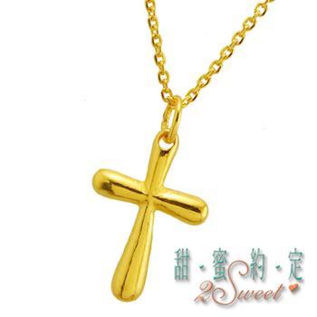 【甜蜜約定】甜蜜純金項鍊NC-S112