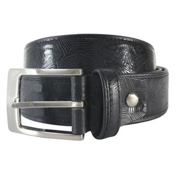 【SINA COVA】老船長時尚鱷魚紋牛皮休閒皮帶 SC2256-1黑