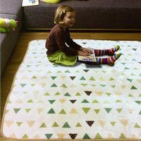 【范登伯格】法蘭絨柔順地毯-(三角)-150x200cm