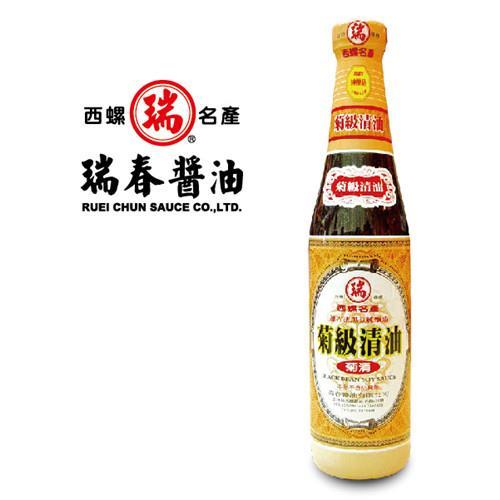 《瑞春》菊級清油(醬油)12瓶入