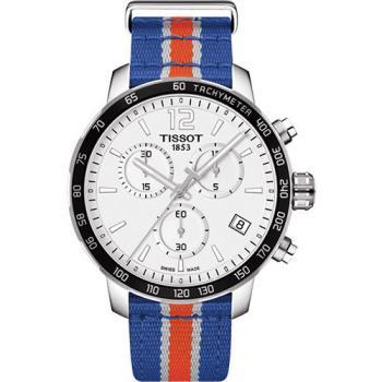 TISSOT天梭 X NBA 紐約尼克隊特別版石英腕錶-42mm/T0954171703706