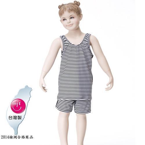 【Bich Loan】夏浪兒童泳裝附泳帽13002001
