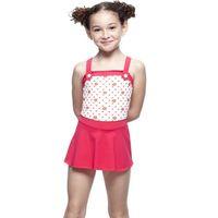 【SARBIS】MIT女童連身裙泳裝附泳帽B88409