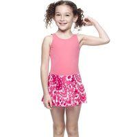 【SARBIS】MIT女童連身裙泳裝附泳帽B88423