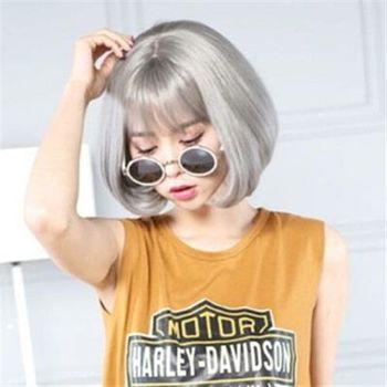 【米蘭精品】短假髮整頂假髮歐美熱銷經典梨花頭