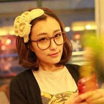 【米蘭精品】中長假髮半頂假髮流行可愛逼真梨花頭