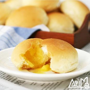 原味維也納麵包6入+爆漿餐包奶油、巧克力各10入