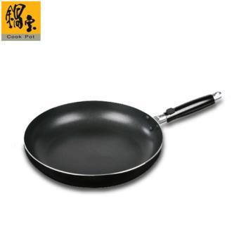 鍋寶歐式平底不沾鍋26CM黑