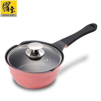 鍋寶玫瑰不沾雪平鍋-18cm(粉紅) AI-1800P
