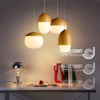 【光的魔法師 Magic Light】美式鄉村堅果吊燈