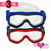 天使霓裳 泳鏡 海灘必備 全罩含鼻架泳鏡(02-共3色)-SN02