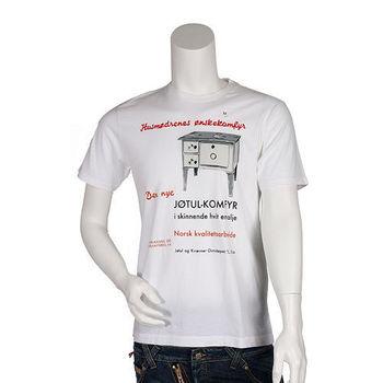 UNIQLO白色簡約圖騰  美式文字 短袖圓領T-shirt