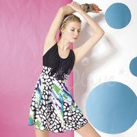 【梅林品牌】繽紛多彩風格時尚二件式泳裝NO.K0382(現貨+預購)