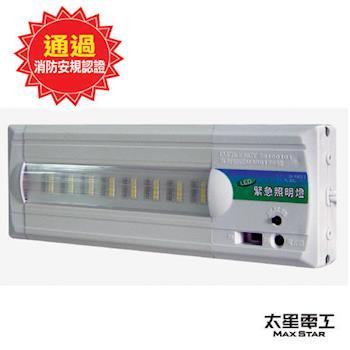 太星電工 夜神300-24LED緊急照明燈-暖白光(個檢) IG3001