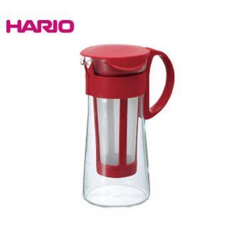 HARIO日本迷你咖啡色冷泡咖啡壺600ML