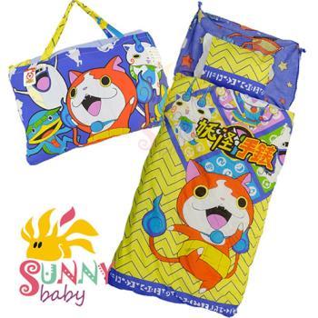 【Sunnybaby生活館】- 卡通造型幼教兒童睡袋-吉胖貓與夥伴