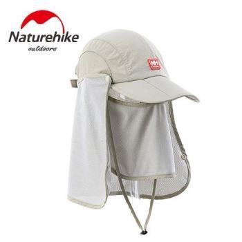 【Naturehike】時尚款折疊速乾鴨舌帽/遮陽帽/防曬帽(卡其)