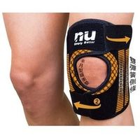 恩悠肢體裝具 (未滅菌)【恩悠數位】NU 鈦鍺能量冰紗可調式護膝